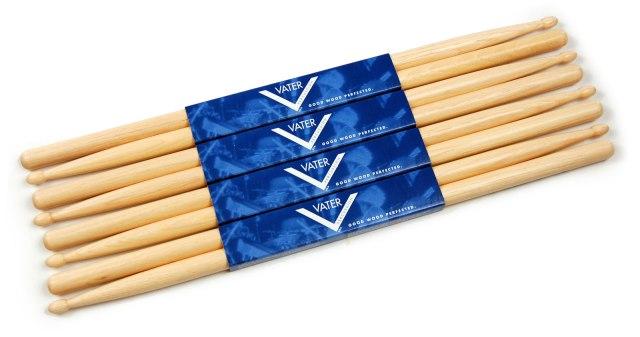 vater-vsp5bw-5b-american-hickory-sticks-4-pack